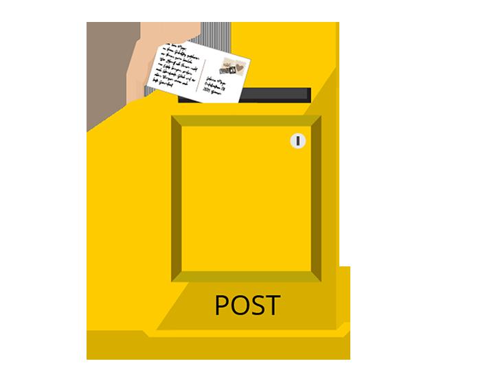 Werbeagentur Bremen Postkasten