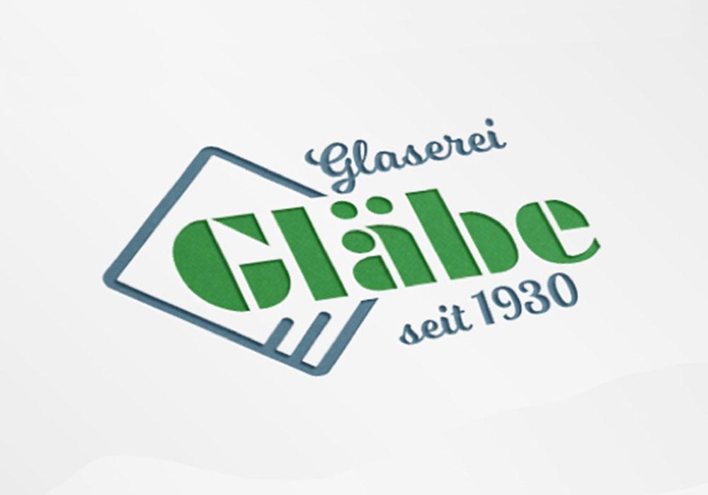 Werbeagentur Bremen Logo der Glaserei Gläbe