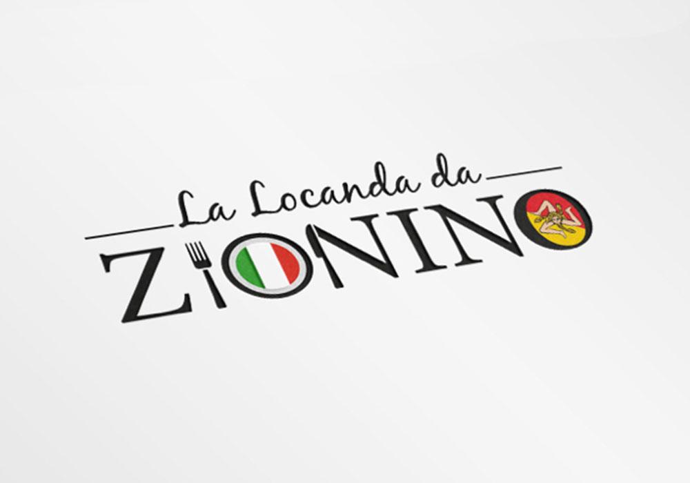 Werbeagentur Bremen Logo Restaurant Zionino