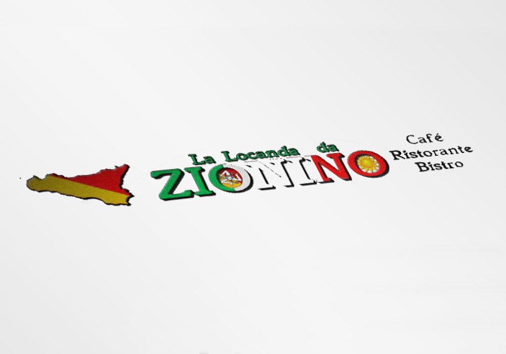 Werbeagentur Bremen altes Logo vom Restaurant Zionino