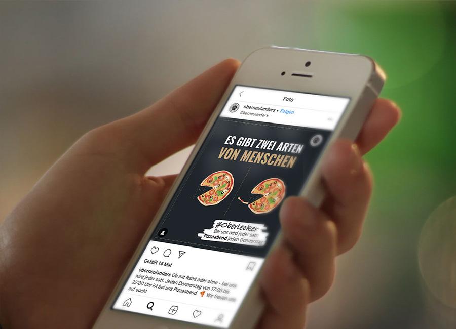Werbeagentur Bremen Social Media Restaurant Oberneulanders