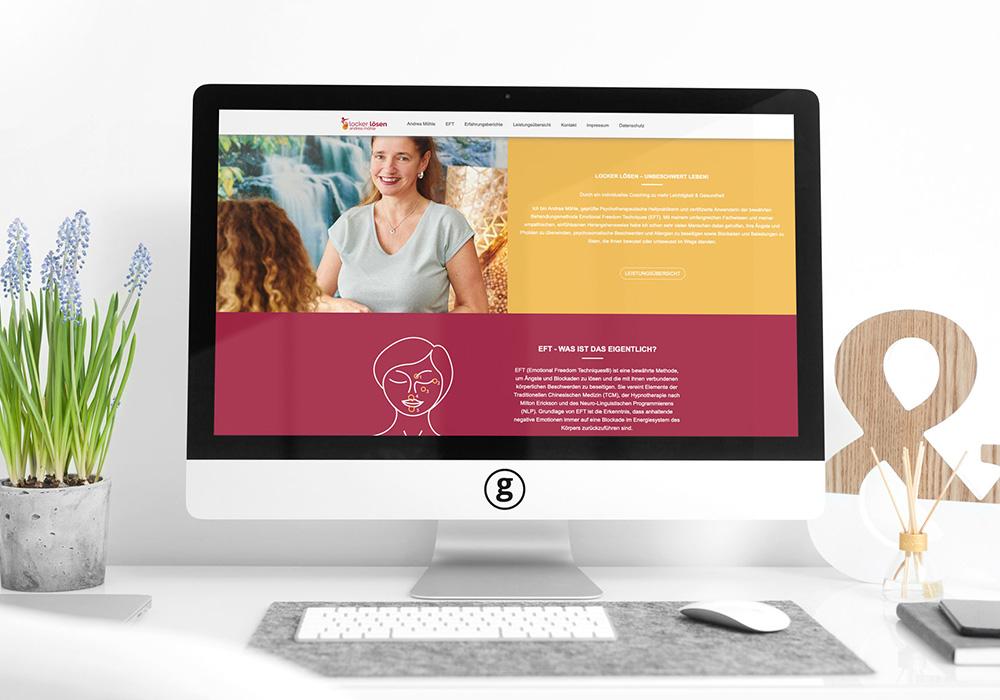 Werbeagentur Bremen Website Locker lösen Abbildung