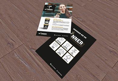 Werbeagentur Bremen Flyer von Winner