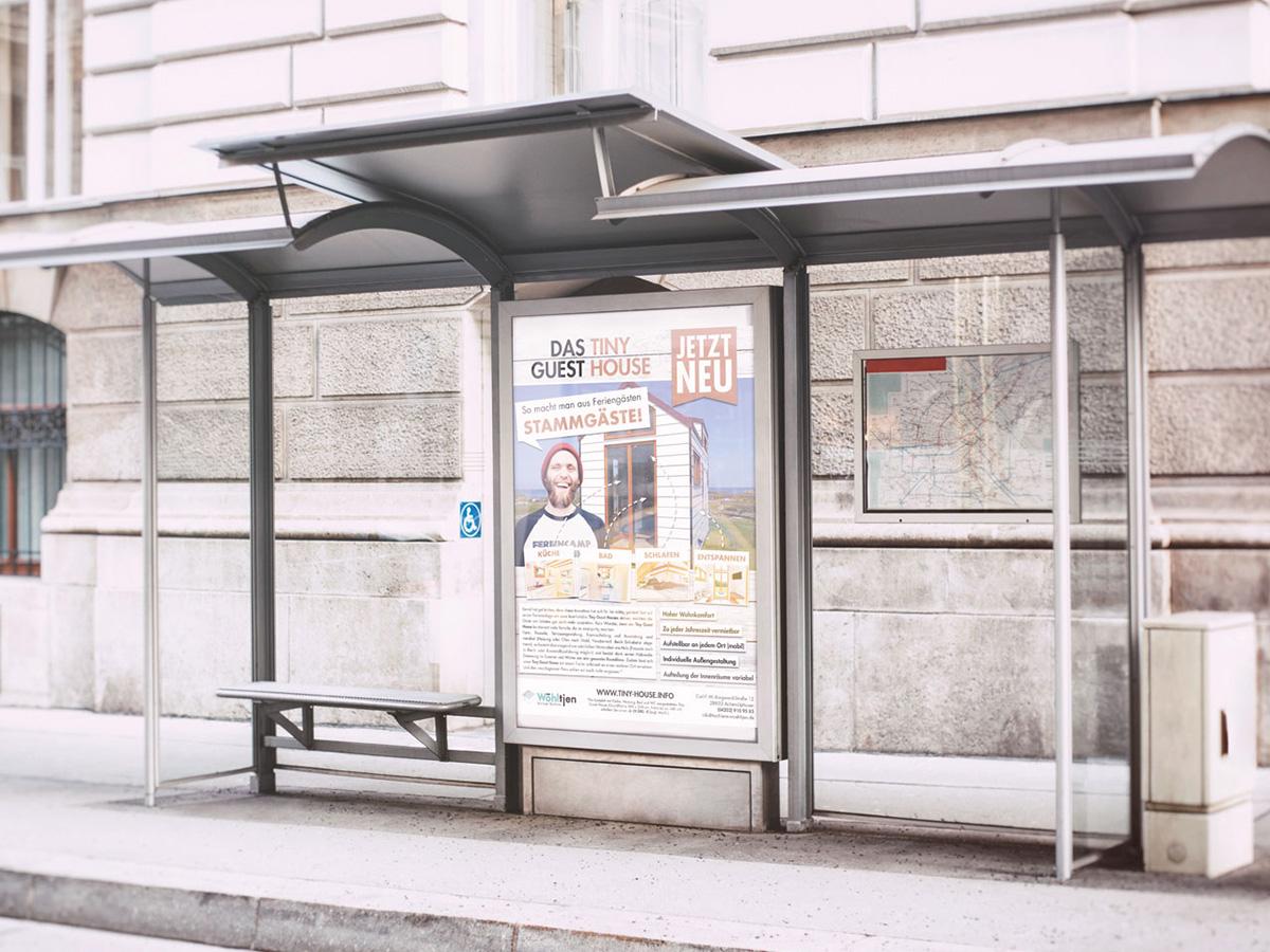 Werbeagentur Bremen Poster von Tiny Guest House
