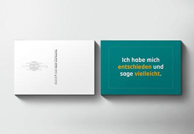 Werbeagentur Bremen Postkarte von Innere Haltung Abbildung