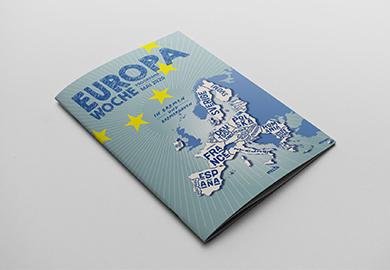 Werbeagentur Bremen Programm Heft der Europawoche Bremen 2020