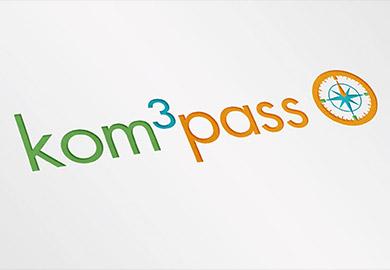 Werbeagentur Bremen Logo von kom3pass Abbildung
