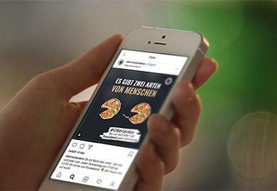 Werbeagentur Bremen Social-Media von Restaurant Oberneulanders Abbildung