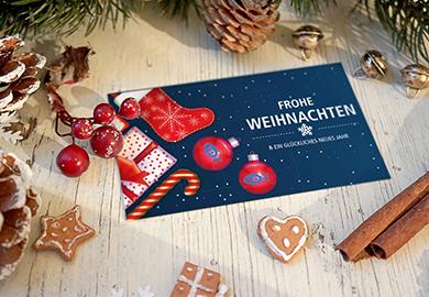 Werbeagentur Bremen Weihnachtskarten von VP2