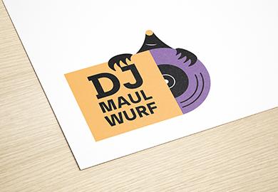Werbeagentur Bremen Logo von DJ Maulwurf
