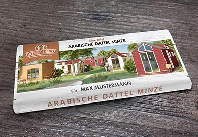 Werbeagentur Bremen Schokoladenverpackung von Tiny Guest House