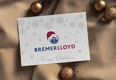 Werbeagentur Bremen Weihnachtskarten von Bremer Lloyd