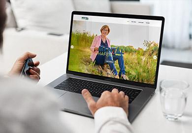 Werbeagentur Bremen Website von Mentalhafen Abbildung