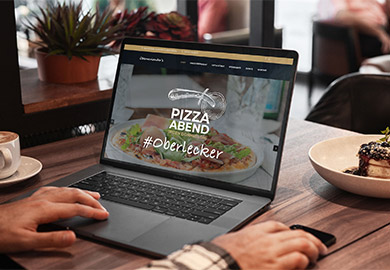 Werbeagentur Bremen Website von Restaurant Oberneulanders Abbildung