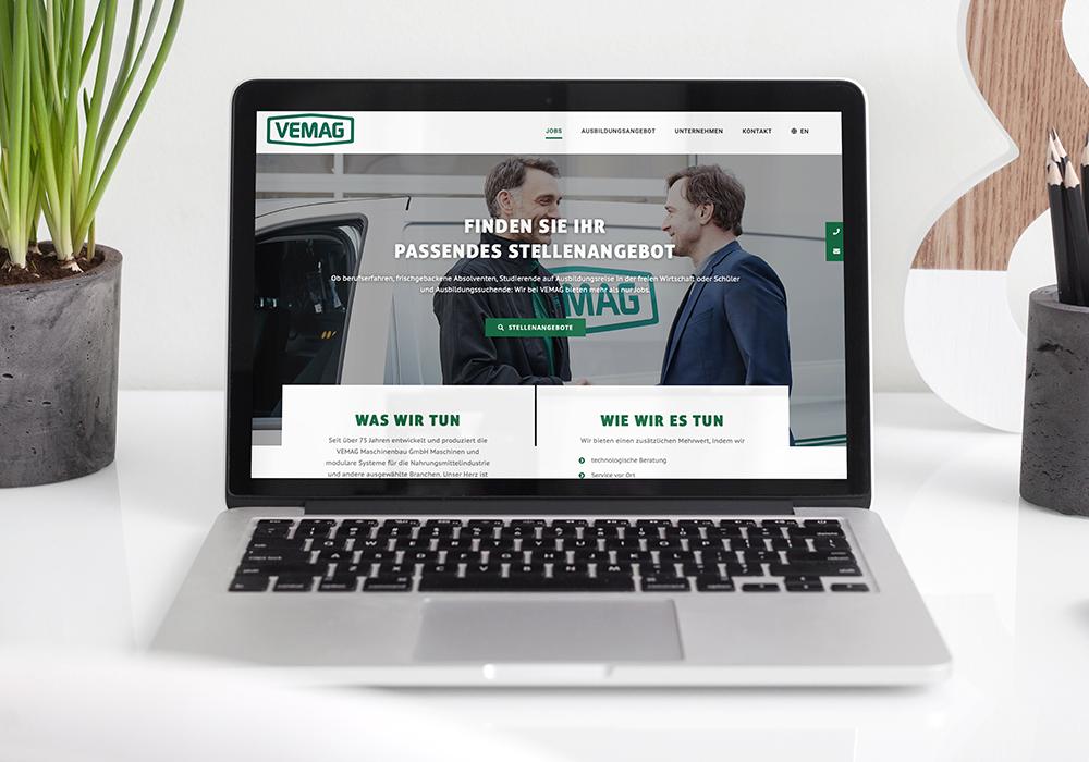 Werbeagentur Bremen Website Vemag Stellenangebote
